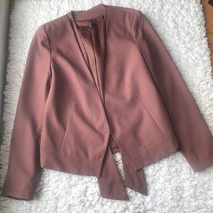 GAP size 10 dusty mauve blazer